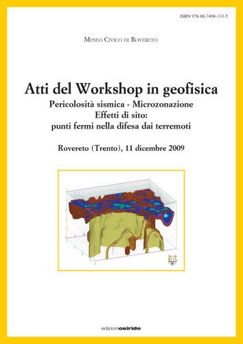 Atti del Workshop in Geofisica 2009