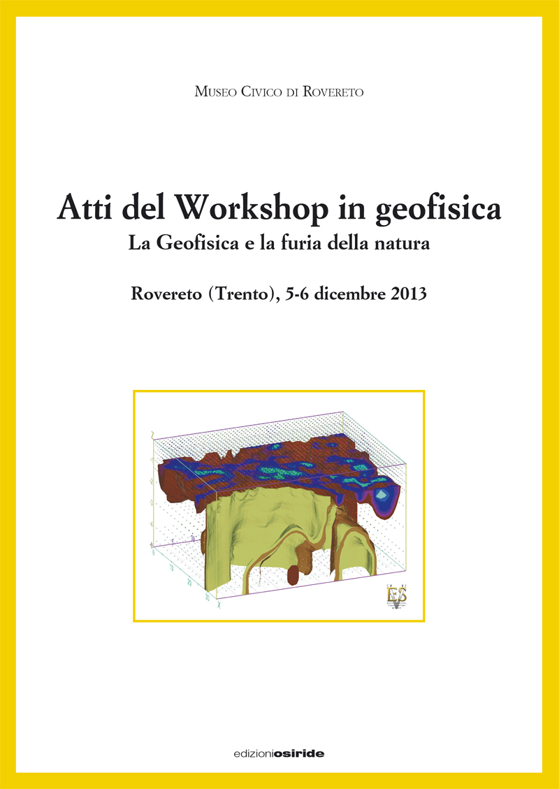 Atti del Workshop in geofisica (2013)